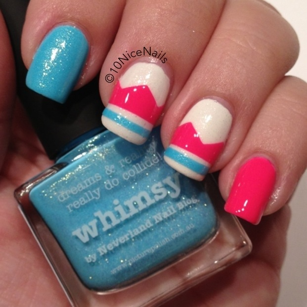 piCture pOlish Blog Fest 2013 :: 10NiceNails.com :: Featuring Whimsy, Hot Lips and White Wedding #ppblogfest2013