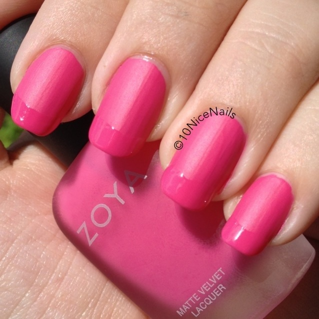 A Special Request :: Matte Shiny Mix | 10 Nice Nails